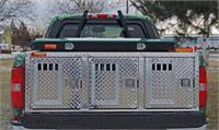 Triple Compartment Dog Boxes W/O Storage