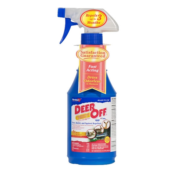 New Deer Off Ii Deer Squirrel Chipmunk And Rabbit Repellent 16 Oz Rtu Spray Model