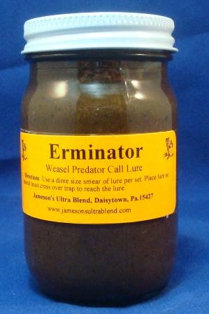 Jameson S Ultra Blend Erminator Weasel Gland Lure