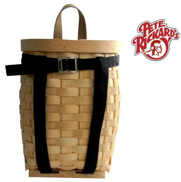 Pete Rickard Handmade Pack Basket : Pete rickard s natural finish pack basket quot