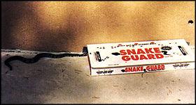 Snake guard snake trap set the trap snake enters trap