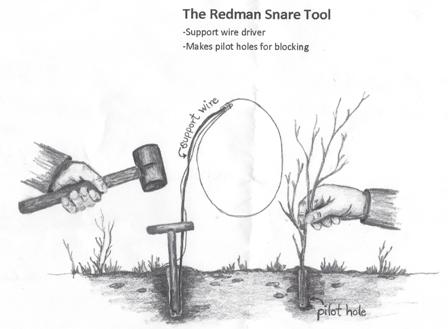 Pcsoutdoors The Redman Snare Tool