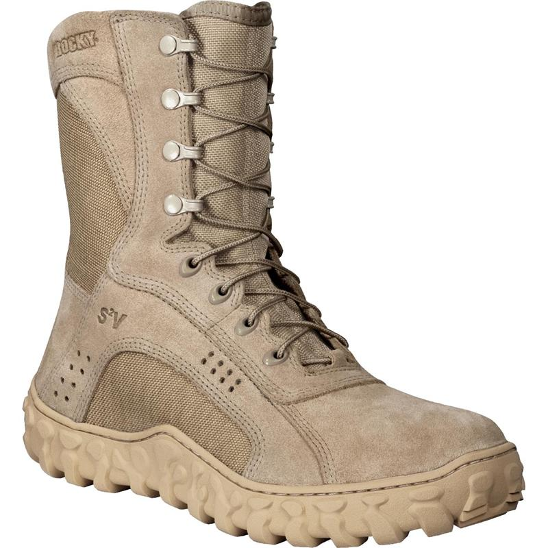 9dd04bfb178 Rocky S2V Vented Military Duty Boot 1,000 Denier Cordura in Sides