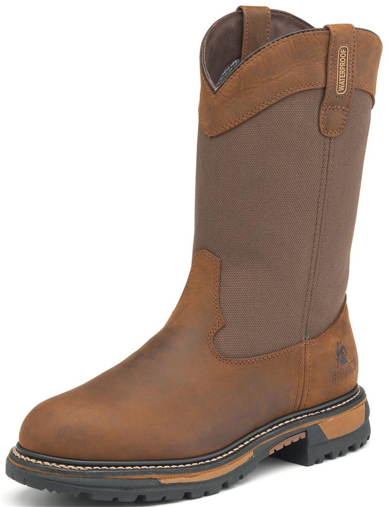 b338301a2a6 Rocky Ride Insulated Waterproof Wellington Boots 2867 8-layer ...
