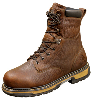 f6b75cdb773 Rocky IronClad Waterproof Work Boot 5693 7-Layer Slip and Oil Resistant