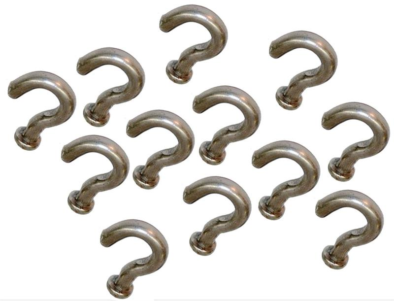 trapping 100 regular duty S hooks traps trap NEW SALE animal control