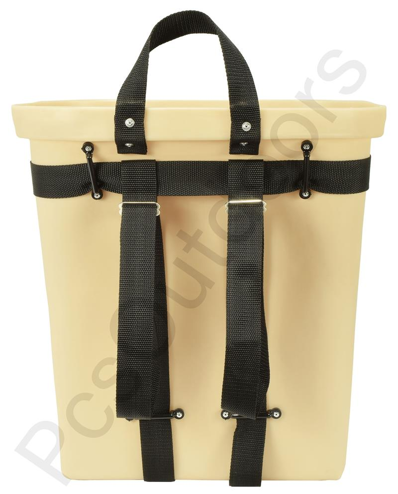 """18-inch Fiberglass Trappers Pack Basket with 8"""" Compartment Back"""