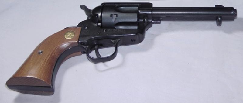 Cimarron Plinkerton ASPLINK-3 Pistol  22LR Wood Grips 4 75
