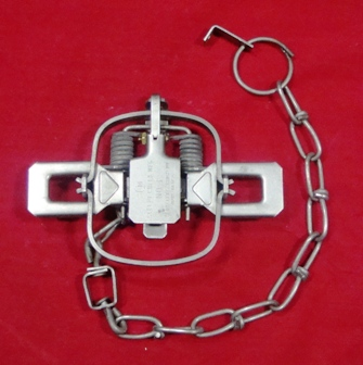 2 New Duke #4-4X4 OS coilspring traps//Beaver//Coyote//Fox trapping//Coyote good $$