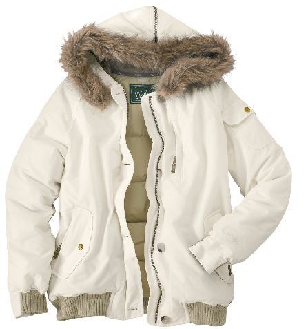 a75516f0258d Woolrich Model #15129 Women's Arctic Jacket Ecru The Arctic Jacket ...