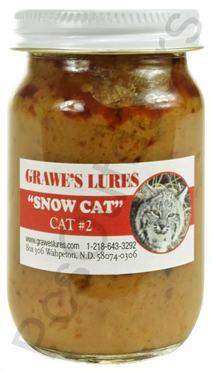 Grawe's Snow Cat Bobcat #2 Lure