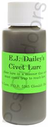 E.J. Dailey's Civet Lure 1 Oz High Quality Lure