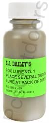 E.J. Dailey's Fox Lure #1 1oz Lure for Red and Grey Fox