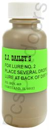 E.J. Dailey's Fox Lure #2 1oz Lure for Red and Grey Fox