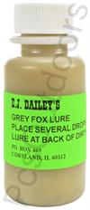 E.J. Dailey's Grey Fox Lure 1 oz.