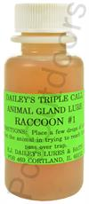 E.J. Dailey's Raccoon #1 Lure 1 Oz for Water and Land