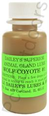 E.J. Dailey's Wolf and Coyote #1 - 1 oz
