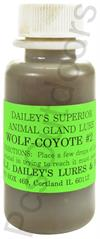 E.J. Dailey's Wolf and Coyote No. 2. 1 oz