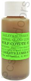 E.J. Dailey's Wolf and Coyote # 3 - 1 oz
