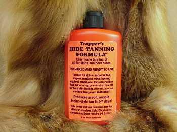 Trapper's Hide & Fur Tanning Formula.